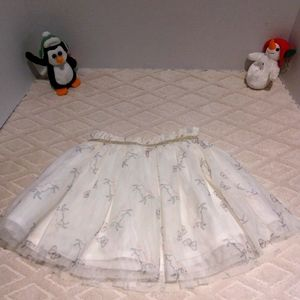 Carter's tulle unicorn and butterfly skirt
